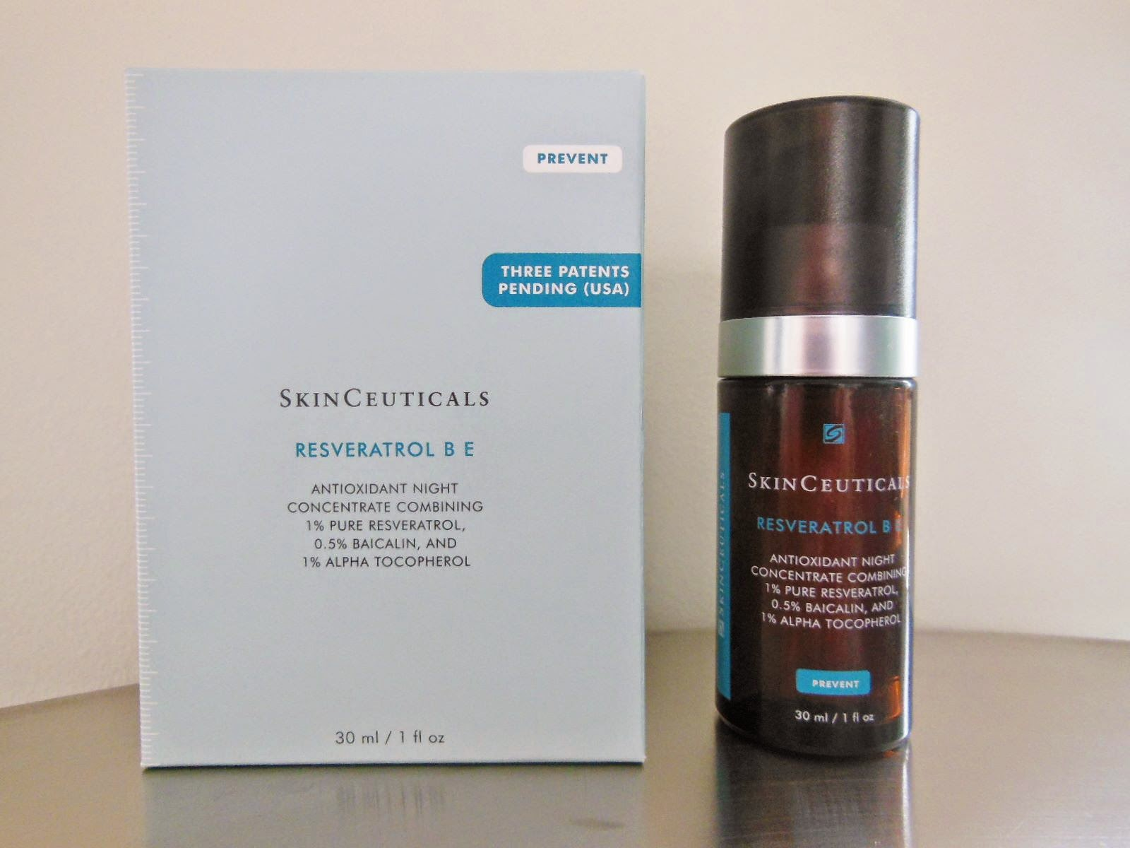 Product Review Skinceuticals Resveratrol B E The Beauty