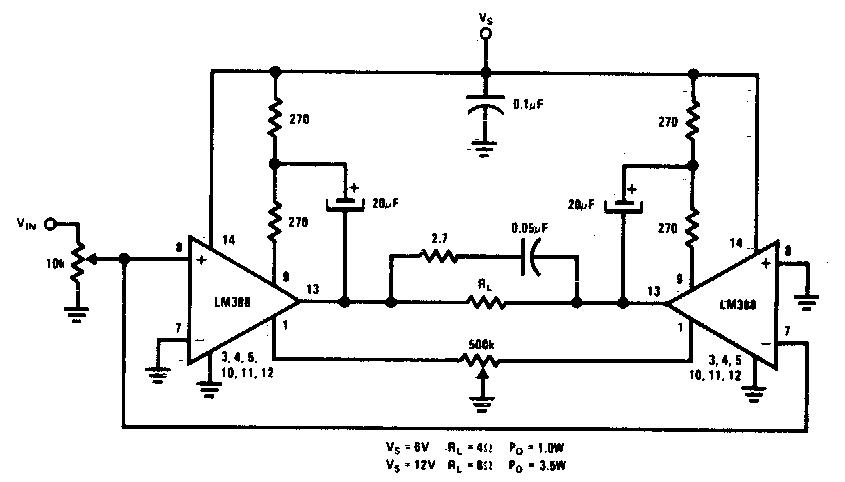 simple bridge amplifier circuit diagram electronic circuit diagrams schematics. Black Bedroom Furniture Sets. Home Design Ideas