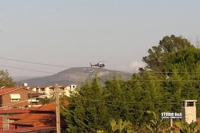 Γιατί προσγειώθηκε ελικόπτερο στο Τημένιο του Άργους