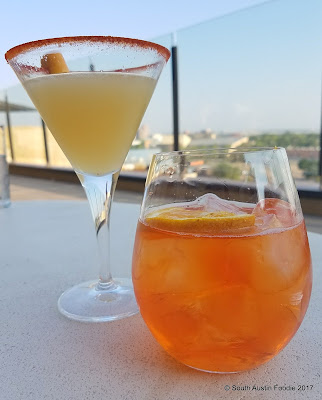 Level 5 cocktails at Hotel Chaco