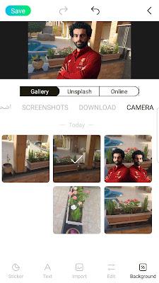 افضل واسهل تطبيق في قص الصور باحترافيه ووضعها علي خلفيات تناسبك