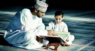 Mengajar alquran sejak dini