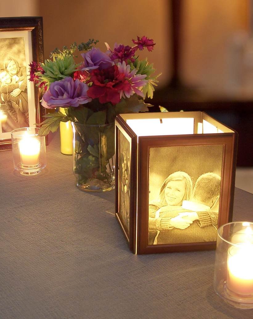 Diy Picture Frame Centerpieces