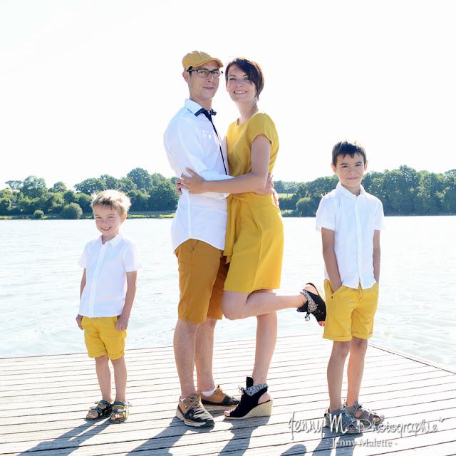 shooting en famille portrait famille en extérieur à moulin papon