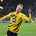 Haaland dá show em vitória do Dortmund, Gladbach vence clássico e Frankfurt assume a liderança