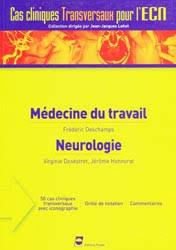 Médecine du travail Neurologie En PDF Gratuit