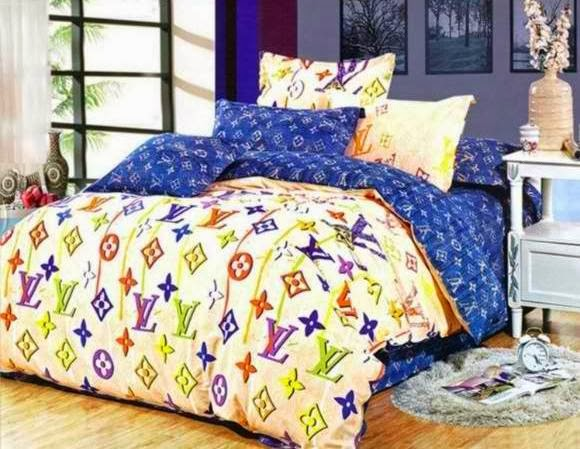 light in net designer bed cover set. Black Bedroom Furniture Sets. Home Design Ideas