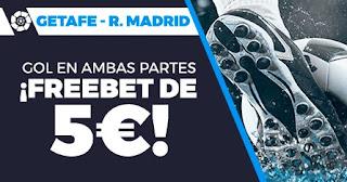 Paston promo Getafe vs Real Madrid 18-4-2021