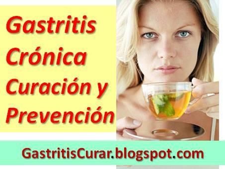 La gastritis no tiene cura