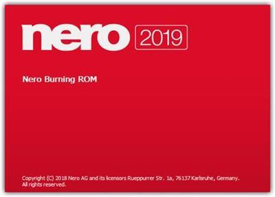 Nero Burning ROM 2019 20 Crack Serial Number License Code Registration Activation