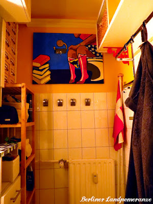 Badezimmer Pop-Art