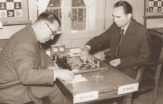 Partida de ajedrez O'Kelly-Cherta, 1960