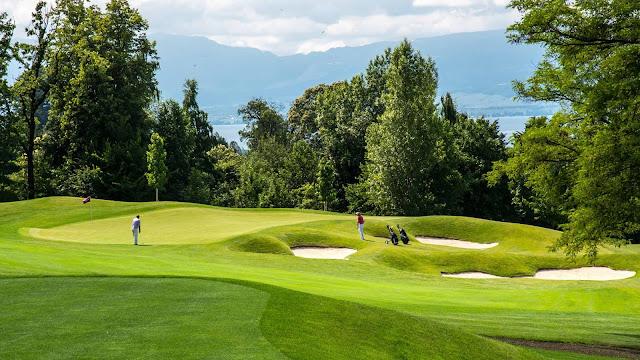Sân golf 18 lỗ tại dự án đã đi vào khai thác sử dụng.