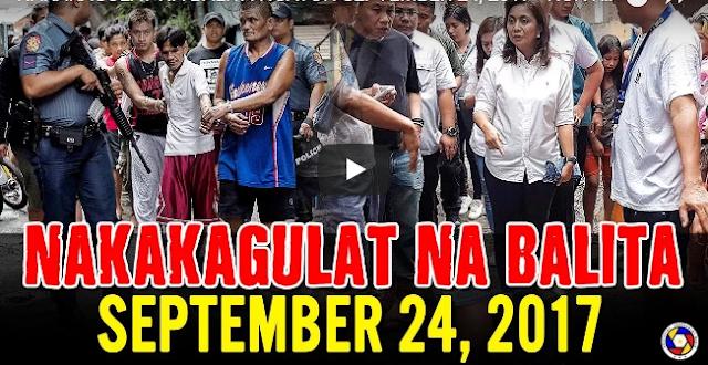 Nakakagulat Na Balita Ngayong September 24, 2017 - Hontiveros | Trillanes | Pres. Duterte
