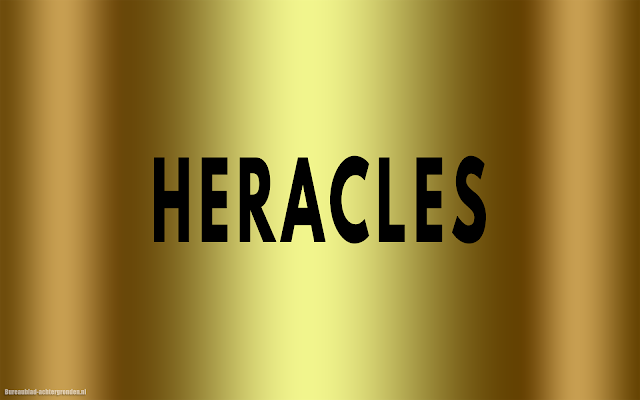 Gouden Heracles wallpaper