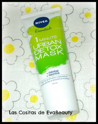Review opinion Mascarilla facial urban detox mask de nivea en notino