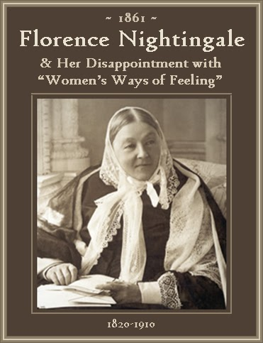 The Unknown History Of Misandry Florence Nightingale