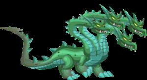 imagen del dragon hidra