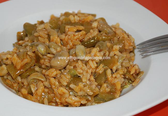 Habas con arroz