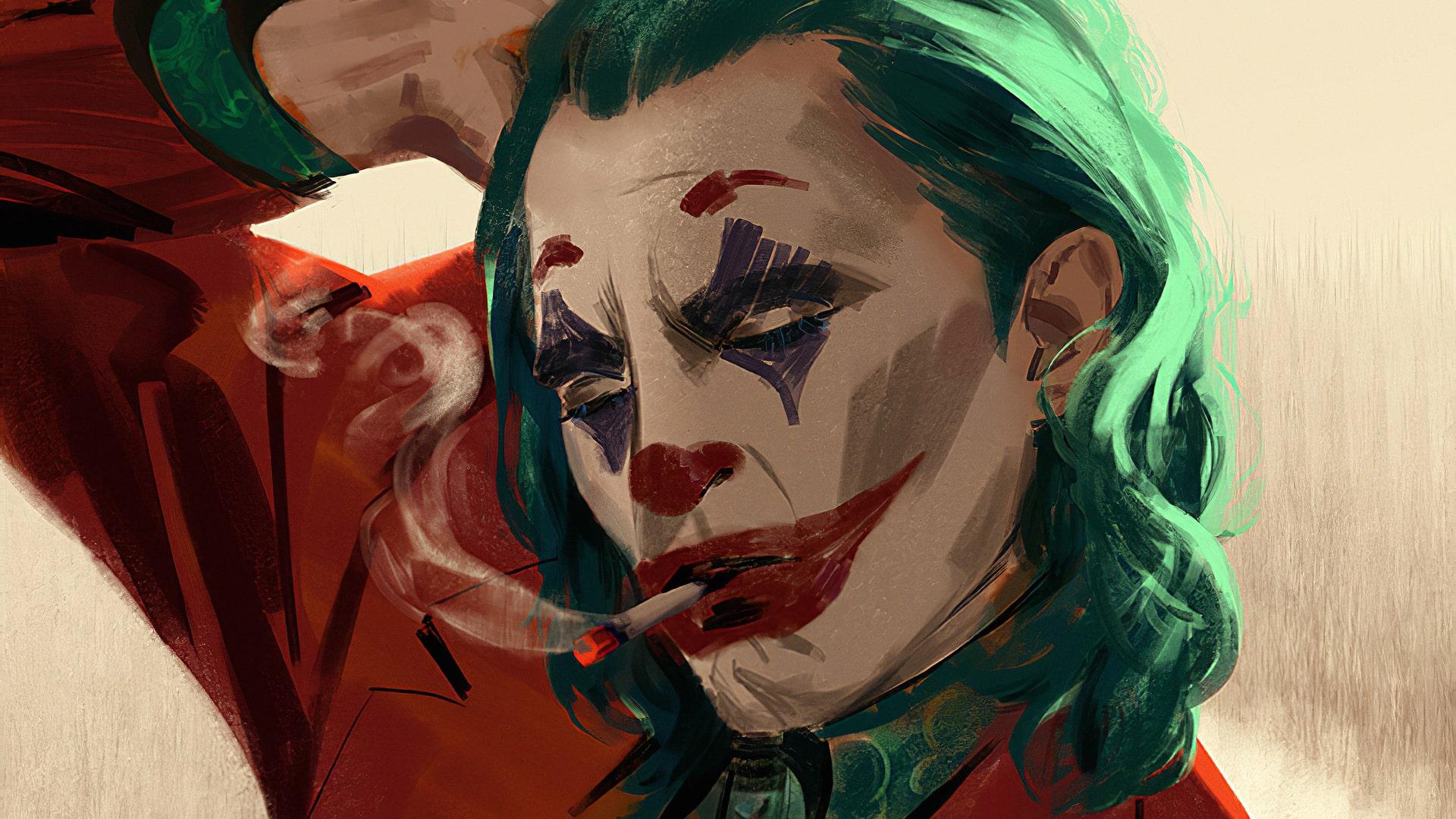 joker wallpaper, wallpaper, joker smoking