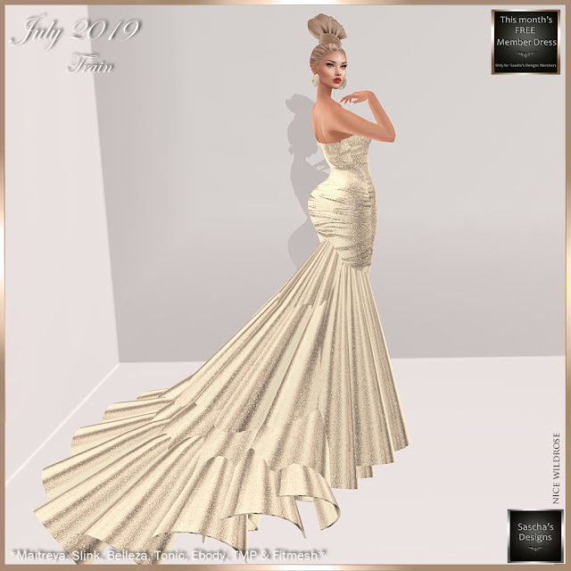 SASCHA'S DESIGNS - July Gown for my members