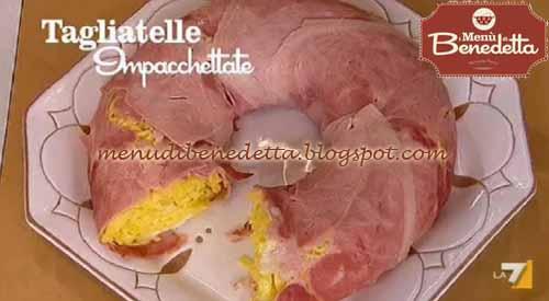 Tagliatelle impacchettate ricetta parodi da i men di for Mozzarella in carrozza parodi