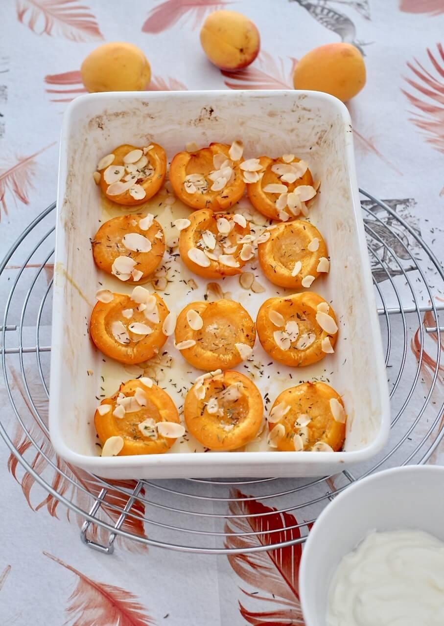 Rezept für Marillen aus dem Ofen