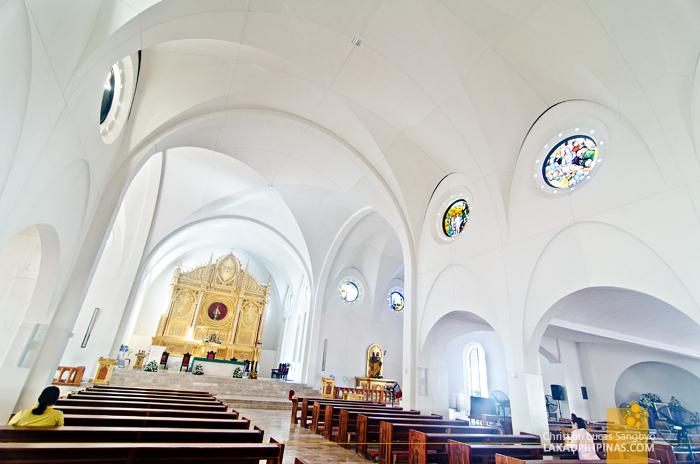 Sto. Niño Church Tacloban Interiors