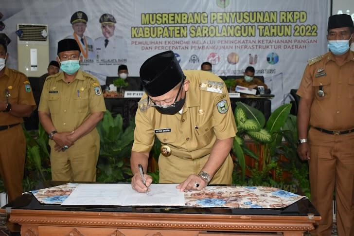 929 Usulan di Musrembang RKPD 2022 di Tampung dan Kaji Skala Prioritas