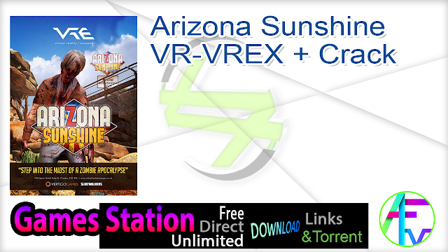 Arizona Sunshine VR-VREX + Crack
