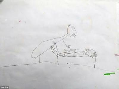 Μια 5χρονη με τις ζωγραφιές της αποκάλυψε την κακοποίηση που είχε υποστεί από ιερέα