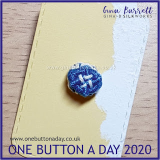 Day 219: Clasp - One Button a Day 2020 by Gina Barrett