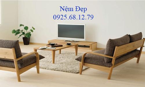 bọc nệm ghế sofa gỗ 38
