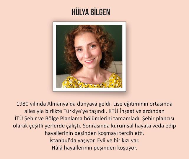 Yazar Hülya Bilgen