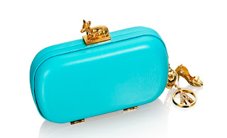 Blue Clutch, Anna Dello Russo for H&M