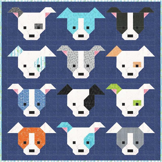 Dog Gone Cute Quilt Along Blog Hop Sew Fresh Quilts