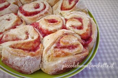 foto Torta di pane e marmellata per bambini