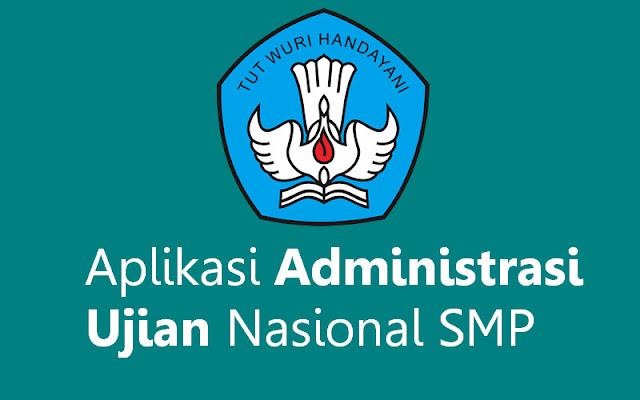 Aplikasi Administrasi Ujian Nasional SMP