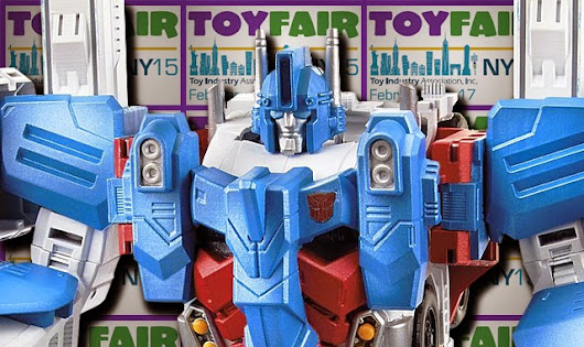 The Transformers Brand Had A Strong Showing At Toy Fair 2015!