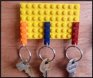 Πώς φτιάχνουμε μια κλειδοθήκη απο Lego σε 5 λεπτά;
