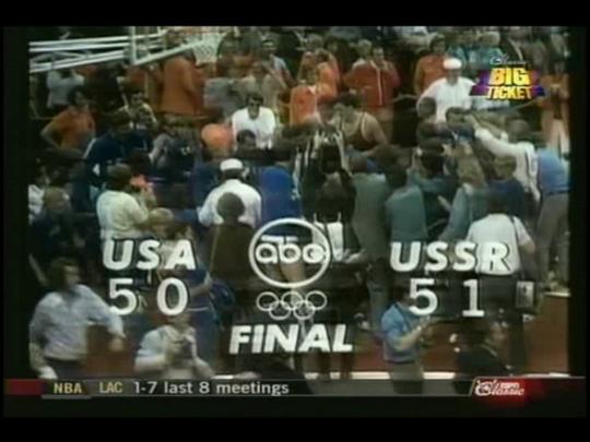финал СССР – США на Олимпиаде-72, Мюнхен
