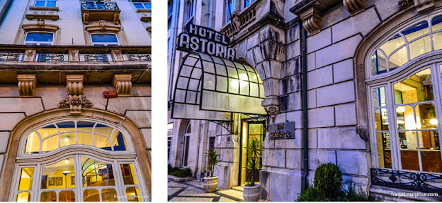 Fachada do Hotel Astoria - Coimbra, Portugal