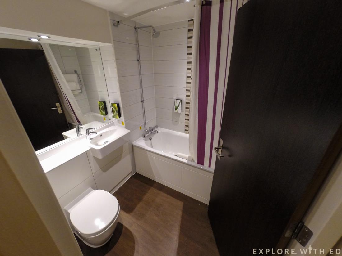 Premier Inn Bathroom, Borehamwood, Blogstock