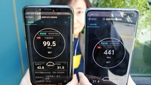 South Korea is the world leader in 5G