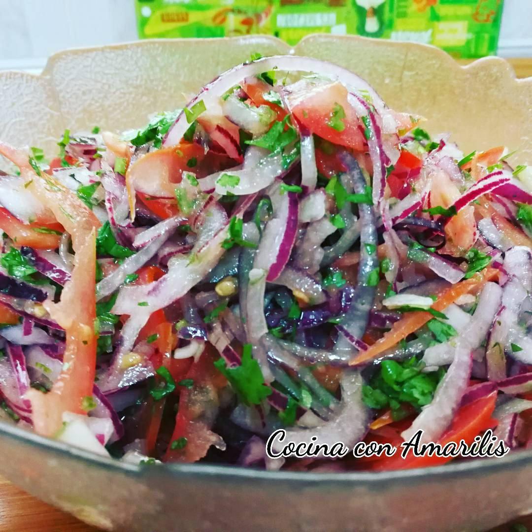 ENSALADA ECUATORIANA  Cocina con Amarilis