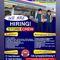 Lowongan Kerja Indomaret Surabaya Terbaru 2021