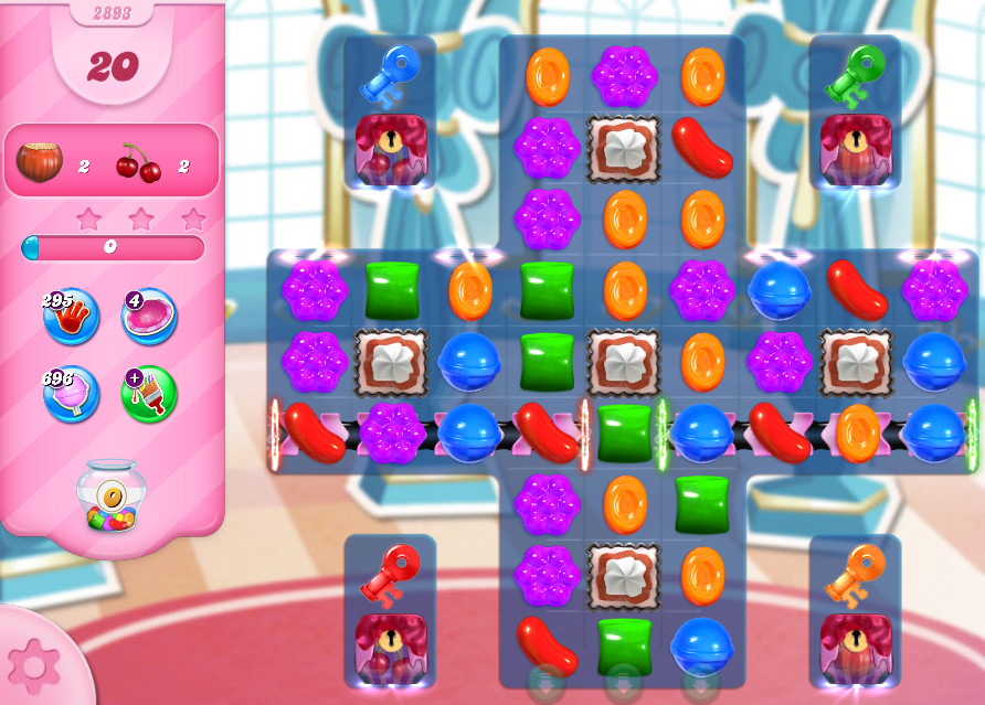 Candy Crush Saga level 2893