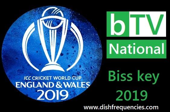 Dish Frequencies: BTV National Latest powervu Key 2019