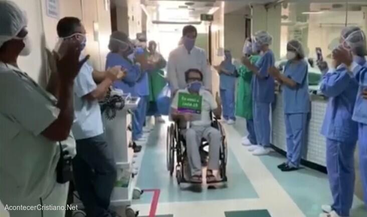 Médico sanado de Covid-19