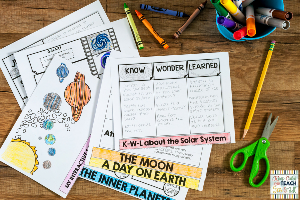 Keep Calm And Teach 5th Grade Fun Independent Science Review Activities A Freebie